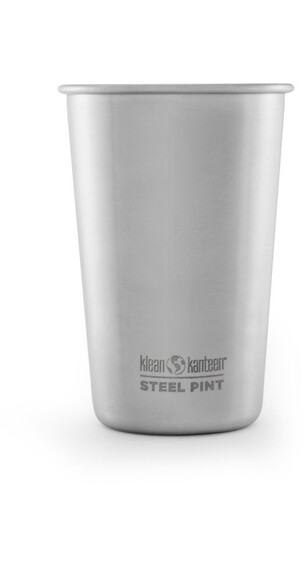 Klean Kanteen Pint Cup 16oz (473 ml) Stainless (borstad finish)